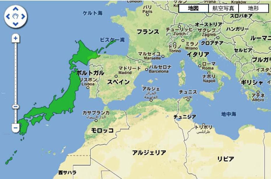 関東地方なんて、モロッコの首都のカサブランカとほぼ同緯度ですよ? Hさ...  ゆき☆アリ ウィ